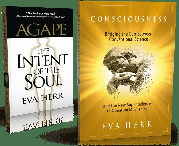 Consciousness-Agape-Eva-Herr-Book-Stack-1